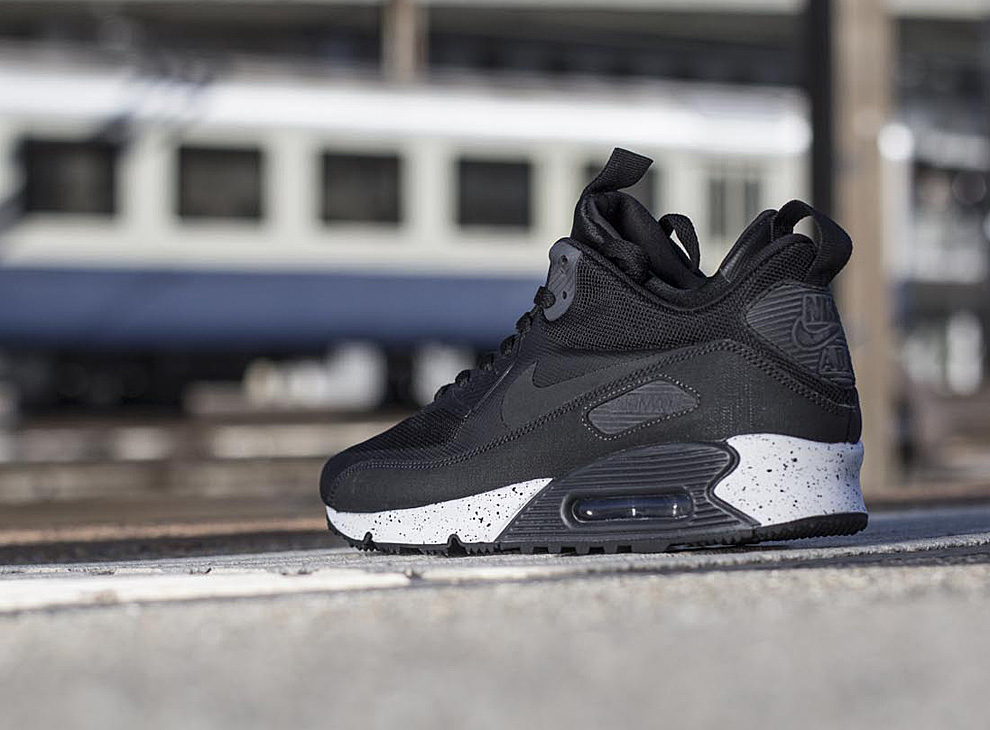 meet f2656 7cfbe ... promo code for nike air max 90 mid sneakerboot dark charcoal 32ff7 3798f
