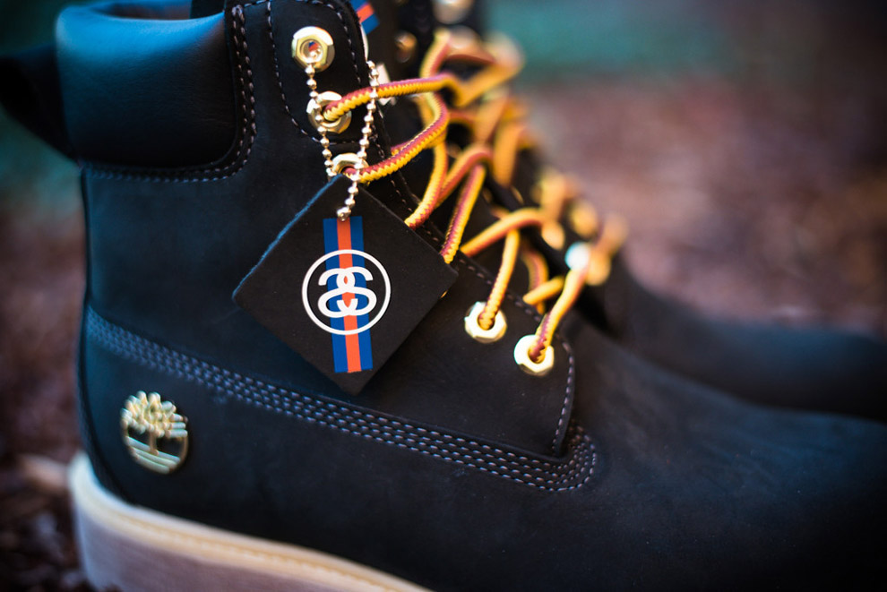"Stussy x Timberland 6 Inch Boot ""Black†(Detailed Photos) - OG EUKicks  Sneaker Magazine 6d5c9584ab06"