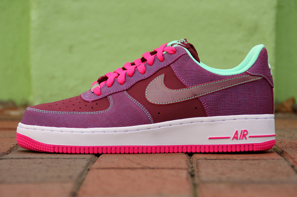 pink and green air force ones 5f94e762e