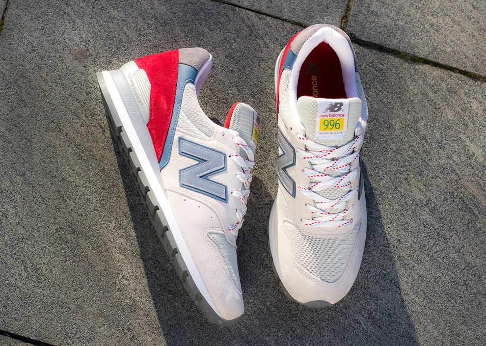 new product 7b81c c0738 Preview: New Balance 996 'Made in USA' (Beige & Red) - OG ...