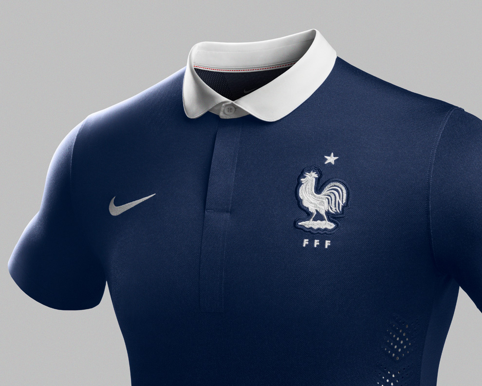 new concept eb711 ee373 France National Football Team Kit for 2014 x Nike - OG ...