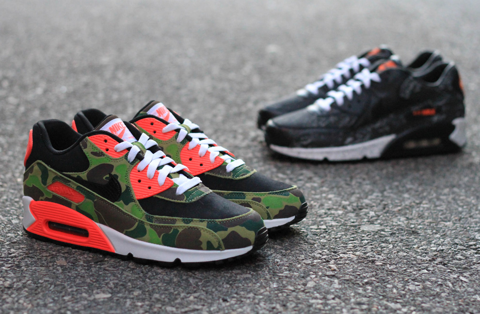6ee742f1cb ... new arrivals atmos x nike air max 90 premium camo pack detailed 07076  c1404 ...