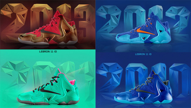 purchase cheap 60dcb 55f1d Nike iD LeBron XI 2009 to 2013 Templets - OG EUKicks Sneaker Magazine