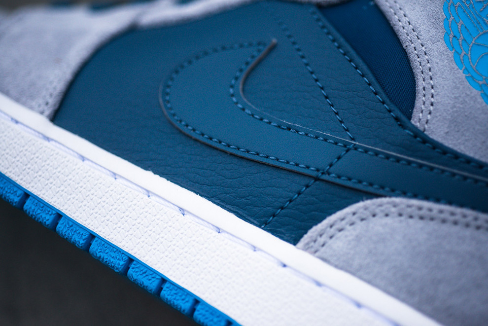 competitive price e7db5 5fe4d ... cheap air jordan 1 mid slate powder blue db995 dbf13