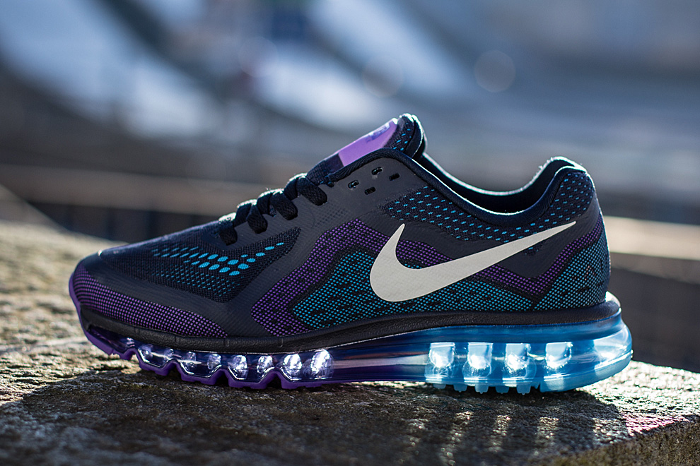 Nike Air Max 2014 | Obsidian, Purple Venom & Vivid Blue OG
