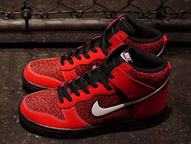 Nike Dunk Hi | Red Elephant