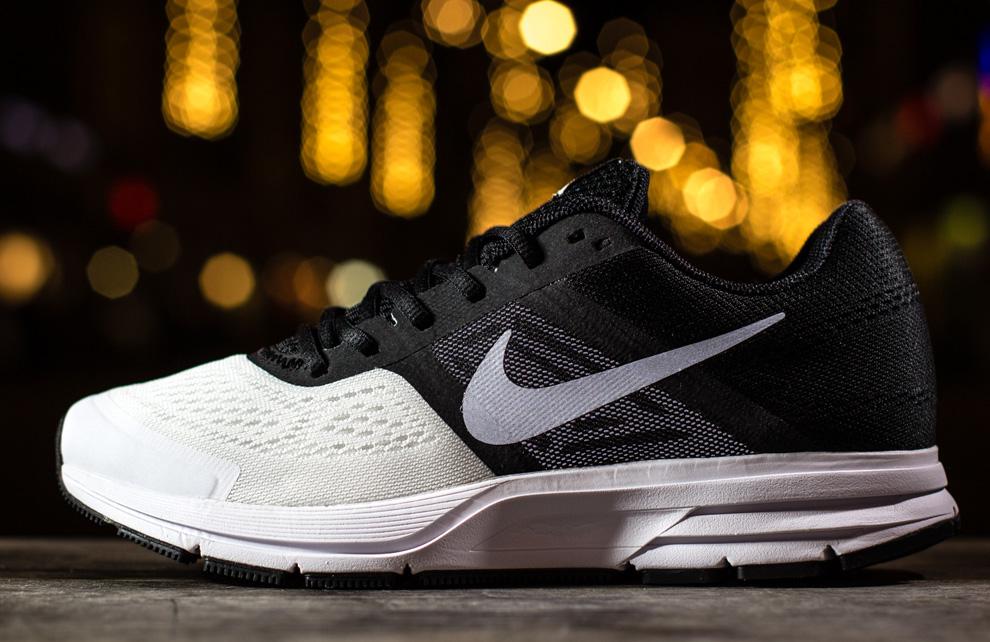 Nike Air Pegasus+ 30 Black, White & Reflect Silver EU Kicks