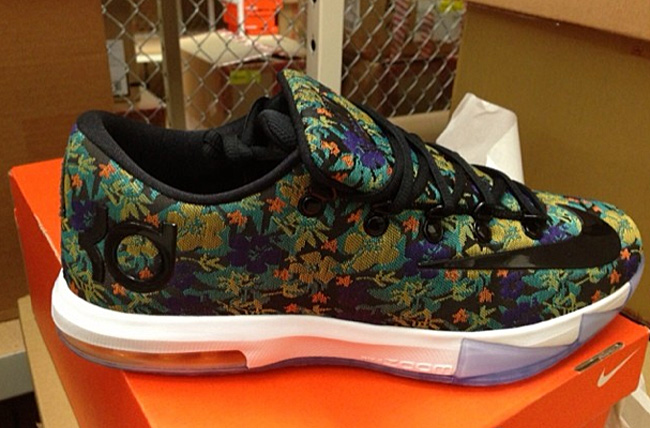 """promo code 67d4c 3d462 Nike KD VI EXT """"Floral"""" (First Look)"""