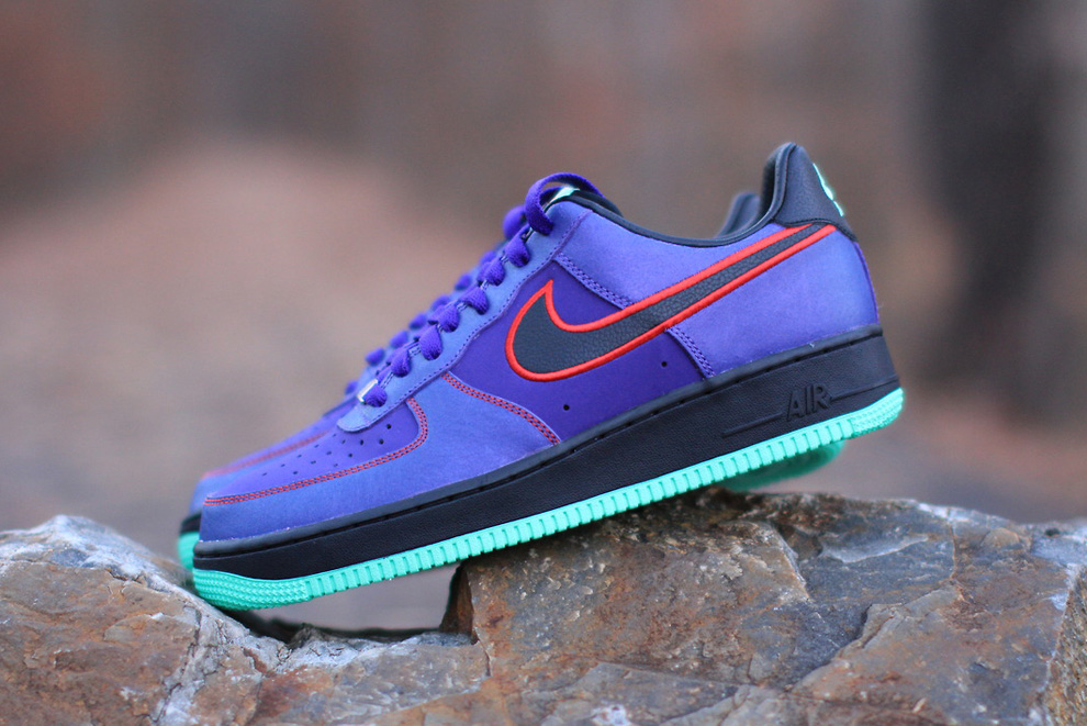 save off d8cc4 24981 nike air force 1 purple green