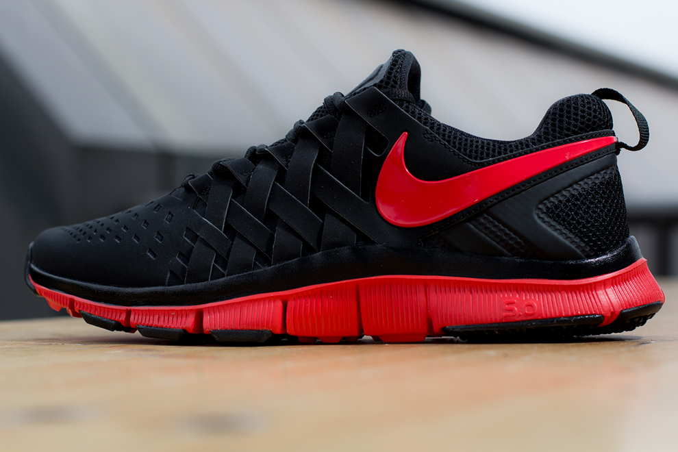 Nike Free Trainer 5.0  Black  Light Crimson