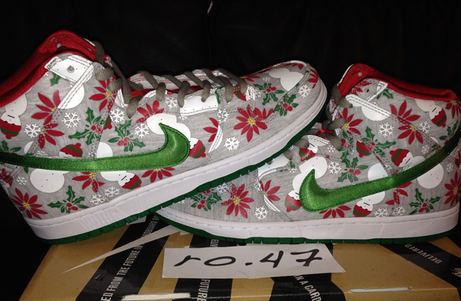 Sb Release Dunk Hi Date Sweater Ugly X Cncpts Nike Christmas Us 7Xw4Bqw