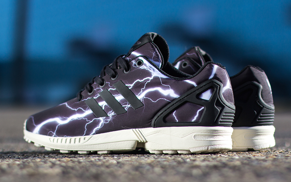 adidas ZX Flux  Lightening  (Black ... & adidas ZX Flux
