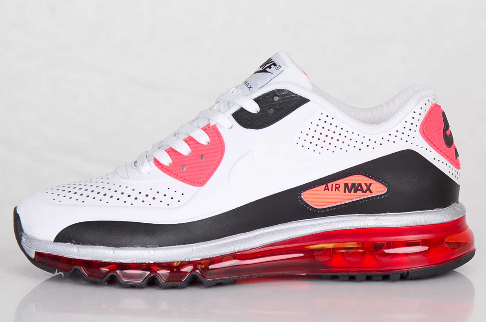 nike air max 90 infra red ltr qs