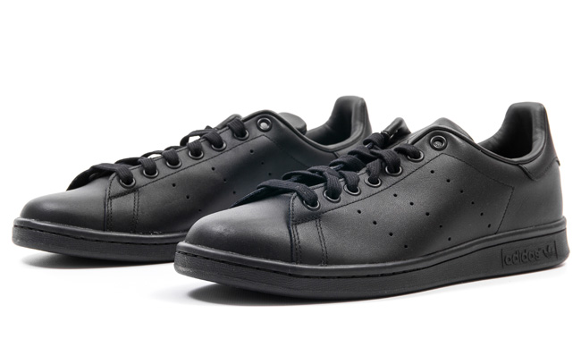 adidas originals stan smith black