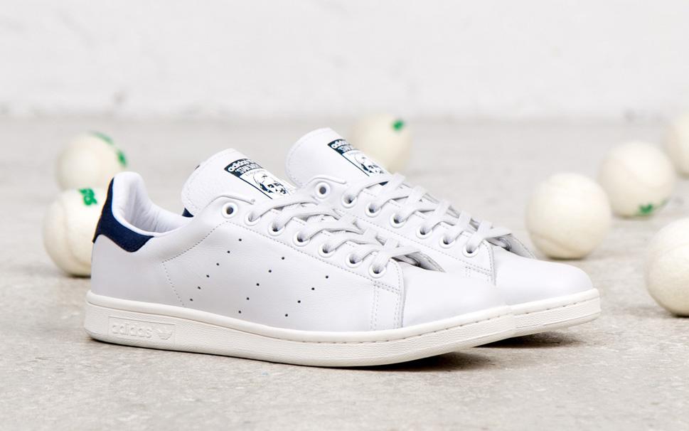 adidas originals stan smith navy blue sneakers