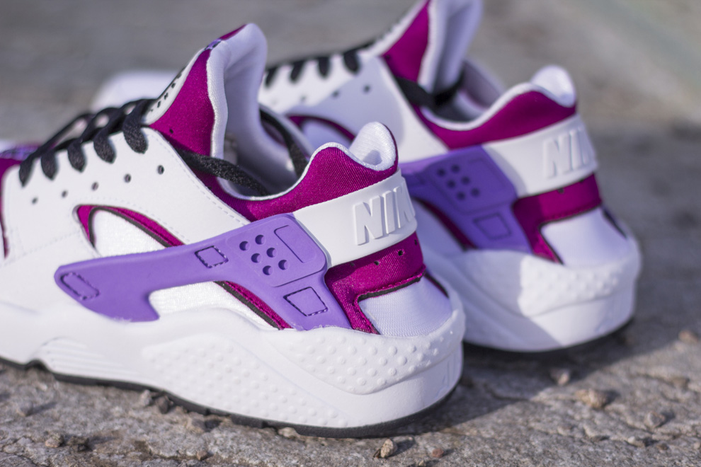 nike huarache womens purple