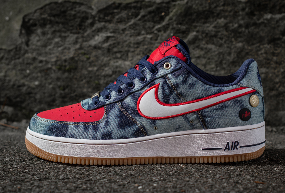 purchase cheap 201e7 173d3 ... Denim Pack Nike Air Force 1 Low Spring 2014 ...