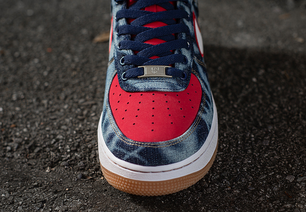 separation shoes fdab6 1f57c ... Denim Another Look Nike Air Force 1 Low Spring 2014 ...