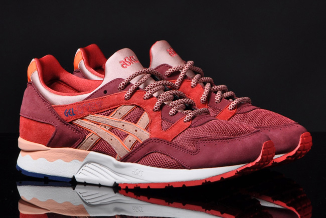 asics gel lyte v granate