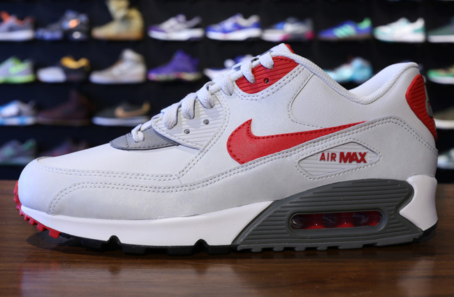 buy online 172a8 f5442 Dressed in a full leather build, Nike Sportswear has just added the latest  colorway of the Air Max 90 to its ranks. In terms of color, the kicks are  set in ...