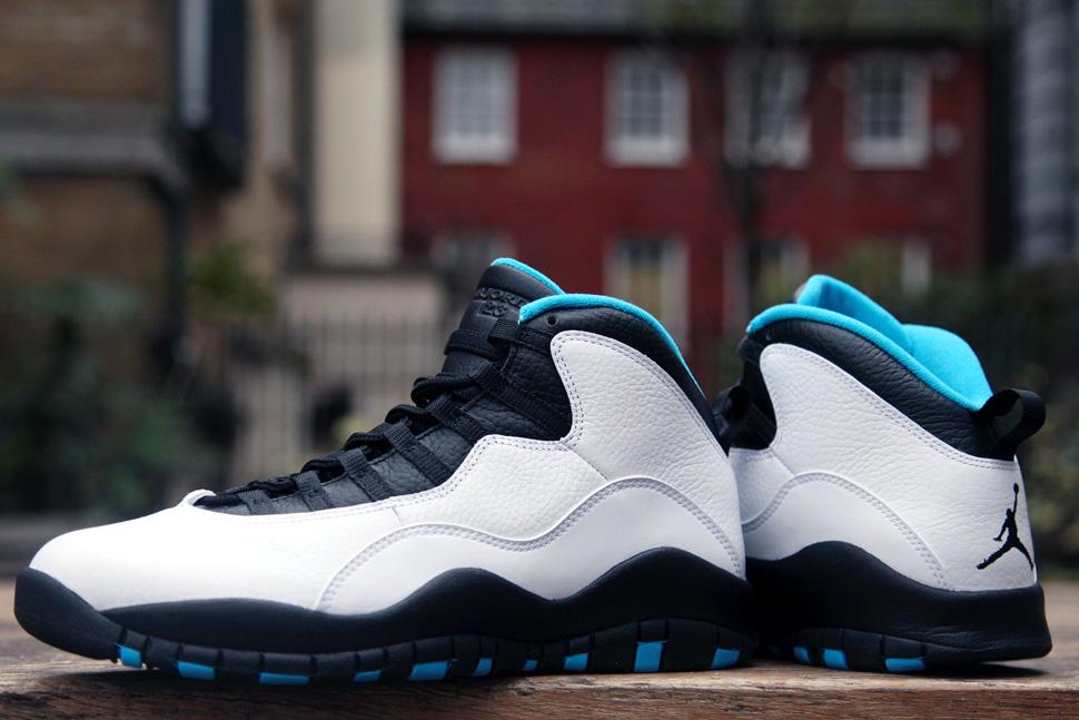 "Air Jordan 10 Retro ""Powder Blue"" (Releasing)"