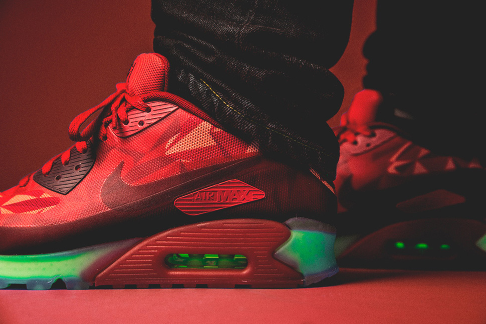 air max 90 ice red