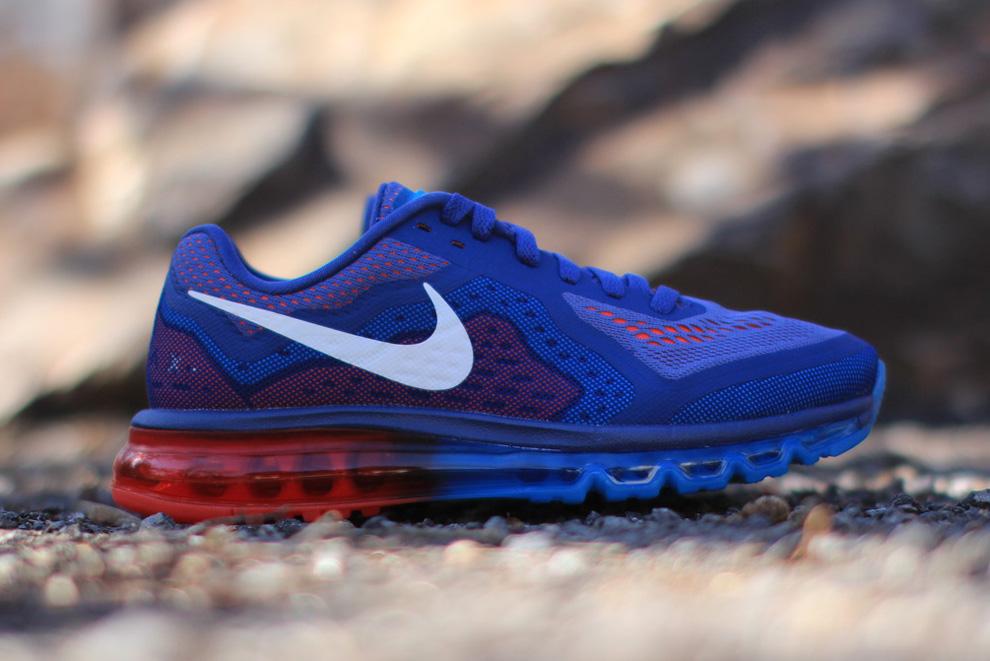 For Sale Nike Air Max 2014 Cheap sale Blue Recall Vivid Blue Lig