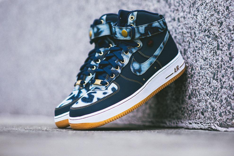 Nike Air Force 1 High Denim