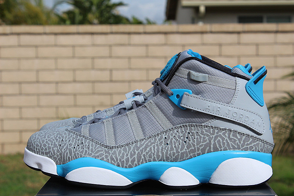 100% authentic 5a671 1b9f3 store jordan 6 ring blue grey 9ea57 fd389