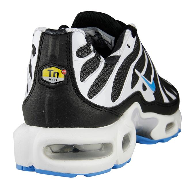 new style 44b2b 20d5c Nike Air Max Plus (Tuned 1) | Black, White & Vivid Blue - OG ...