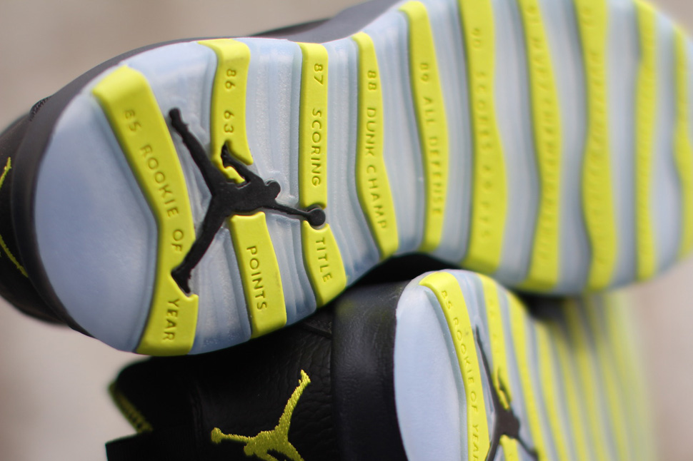 "Air Jordan 10 Retro ""Venom Green"""