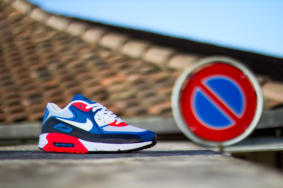 first rate c7f1a e597f ... clearance preview nike air max 90 lunar c3.0 blue grey red 772c0 bfaf7
