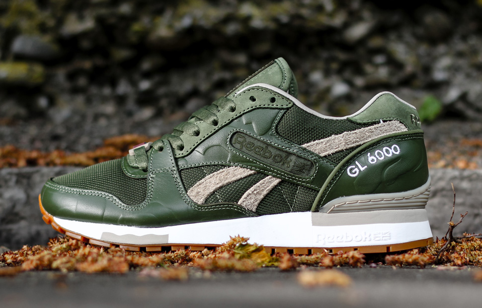 65b6460034e Reebok GL 6000 Dark GreenMoon WhiteWhite Men Classics Shoes Reebok Delivers  Another Banger With This GL 6000 • KicksOnFi Distinct Life x Reebok GL 6000  ...
