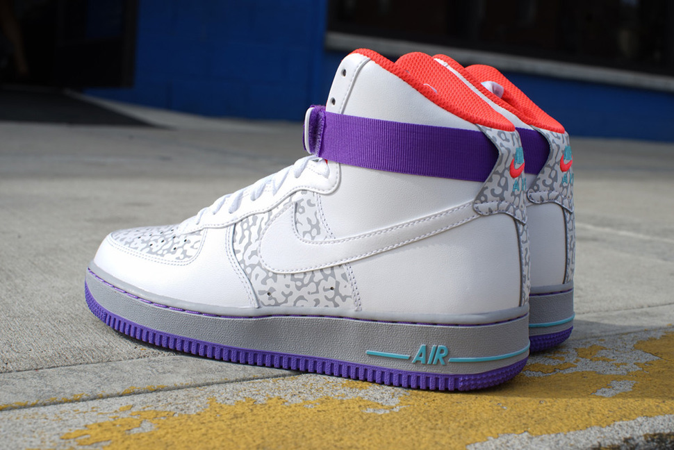 Nike Air Force 1 Hi Laser Crimson, ...