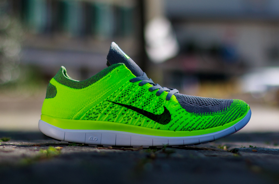 Nike Light Free Flyknit 'Volt Negro Light Nike Charcoal' Ue Kicks ebf757