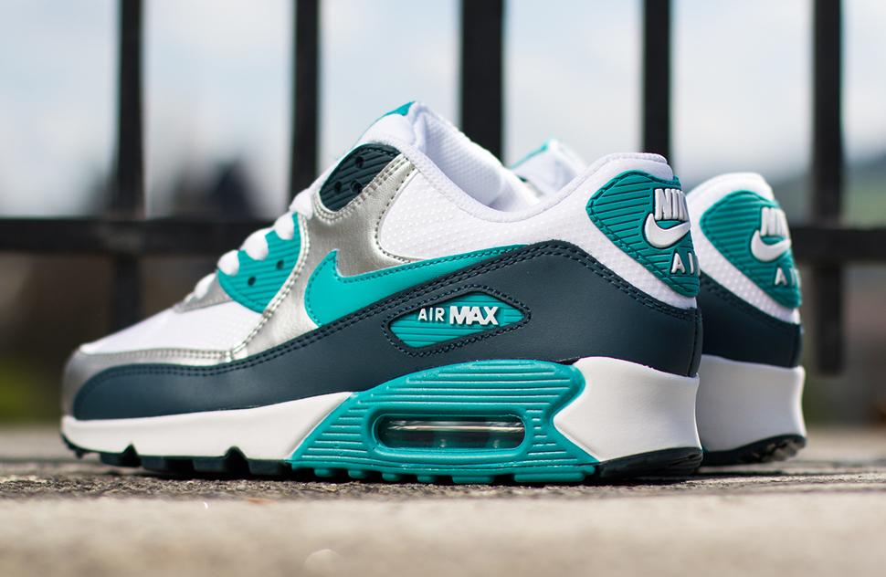 efe4bd93b4a363 ... Nike WMNS Air Max 90 Turbo Green