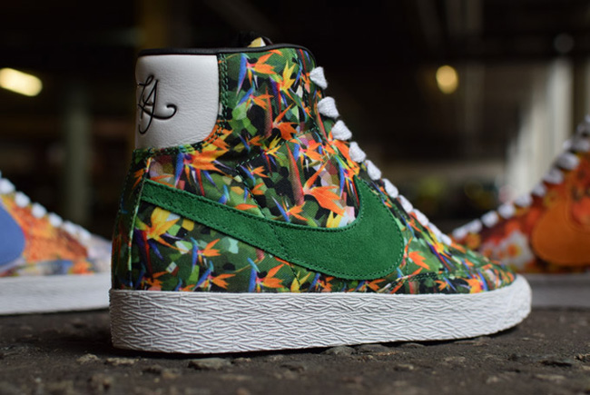 free shipping 51360 ece76 ... low price releasing nike blazer mid âœfloral packâ for la nyc chicago  247fe f3099