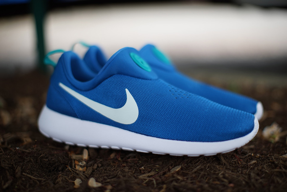 pretty nice 67319 dfad9 Nike Roshe Run Slip-On  Military Blue  - OG EUKicks Sneaker Magazine