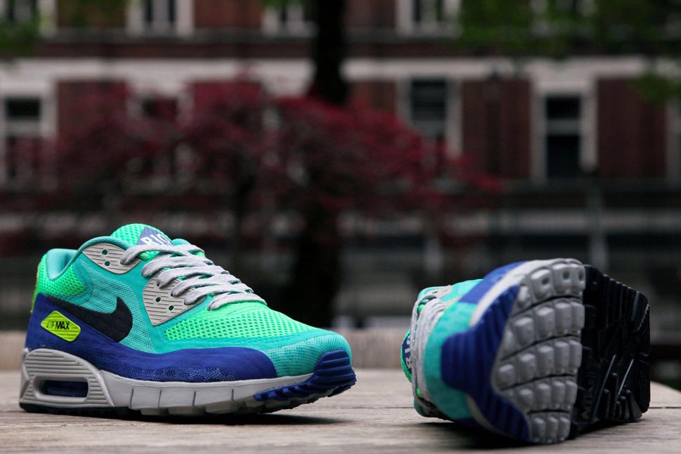 Nike Air Max 90 Breathe City Pack QS Rio Crystal Mint Hyper Blue