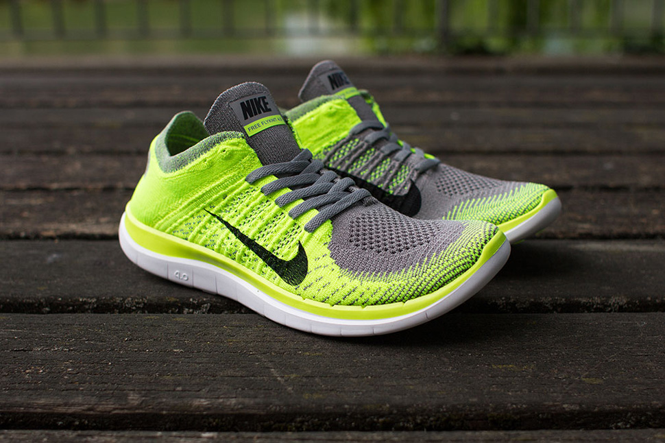 another chance 73191 4f2a7 ... where to buy nike free 4.0 flyknit light charcoal volt bd3bc f6e5d