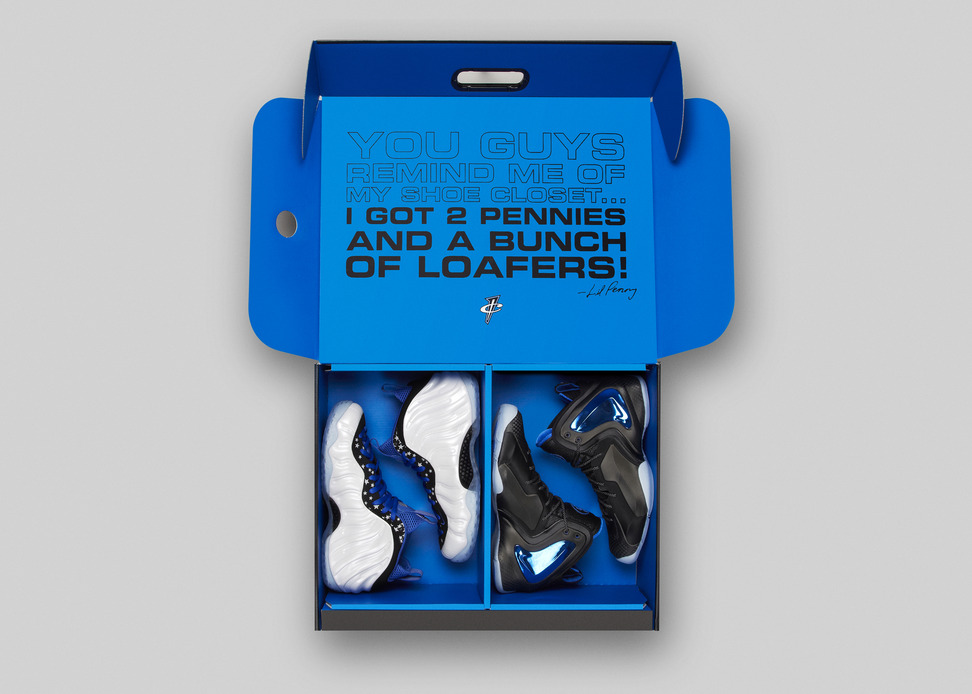 on sale a4a86 d1a86 Nike Air Foamposite One   Lil Penny Posite  Shooting Stars  Pack (Official  Images, Sketches   Release Info) - OG EUKicks Sneaker Magazine
