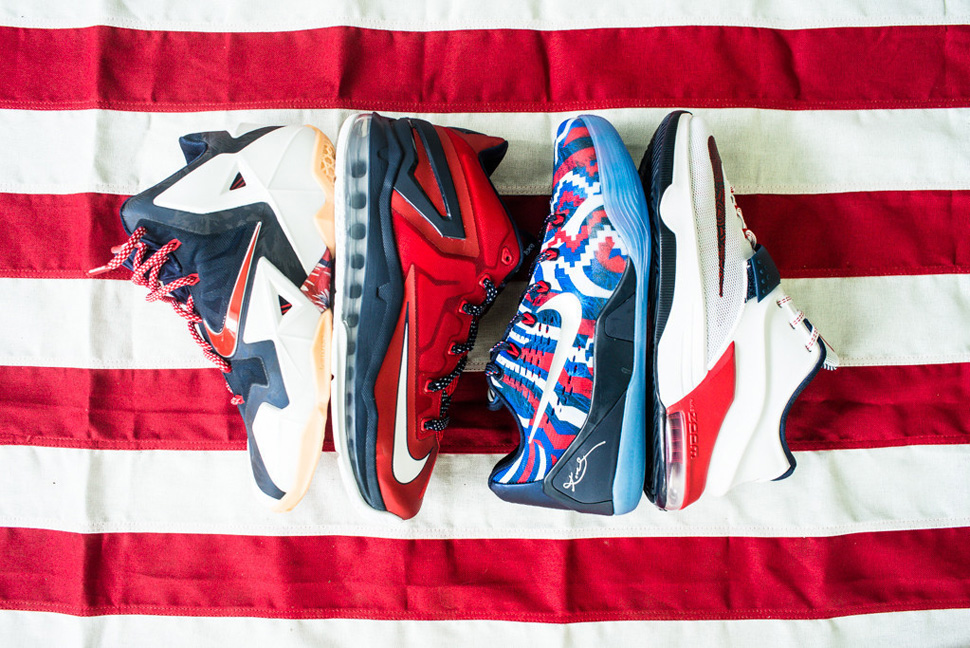 sale retailer c0a9b d469d ... Nike Basketball 4th of July Pack 2016SSNEW CHEAPNIKE KOBE 11 ...