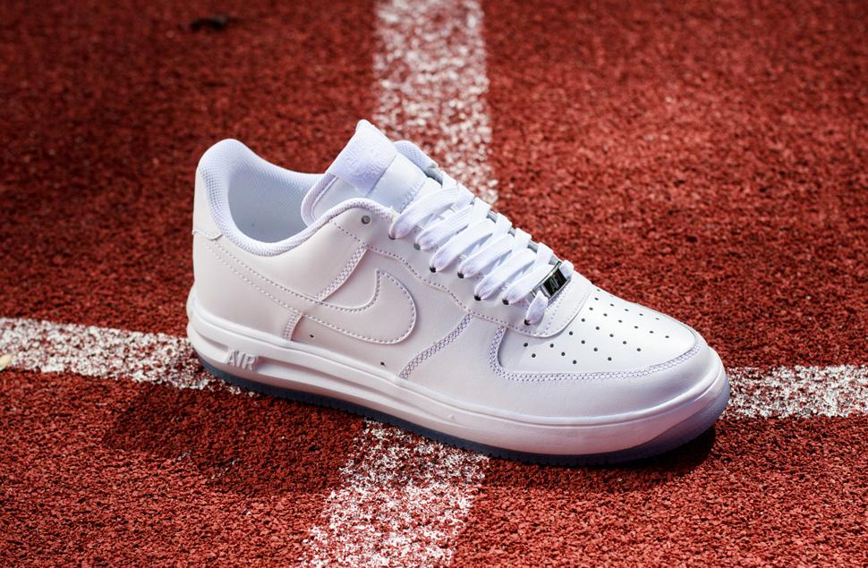 Nike Lunar Air Force One Blanc Faible