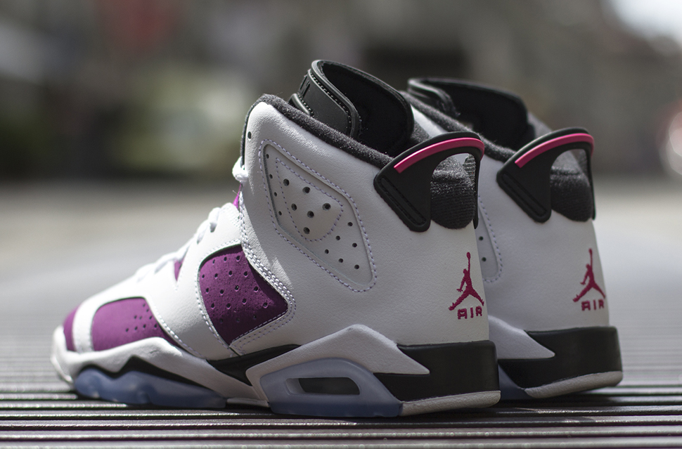 save off 44336 2ee00 netherlands jordan retro 6 vivid pink bright grape b9545 8808d