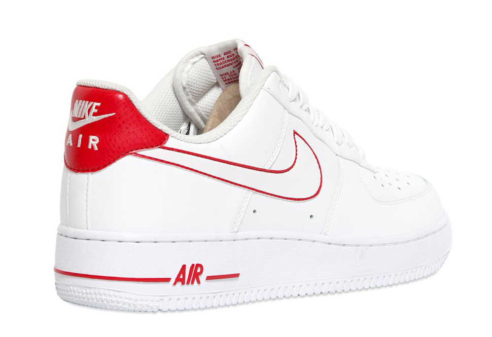 Nike Air Force 1 Faible Uknown Rouge