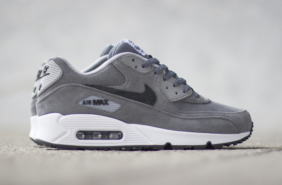 nike air max grey suede