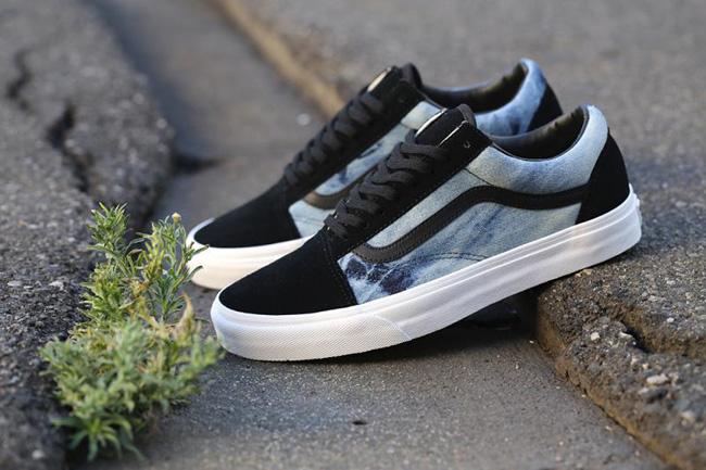 vans old skool denim shoes