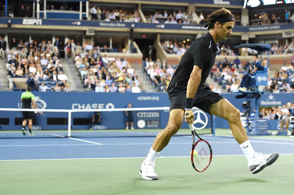 aca564ab033aa Roger Federer Starts US Open in Nike Court Zoom Vapor AJ3 - OG EUKicks  Sneaker Magazine