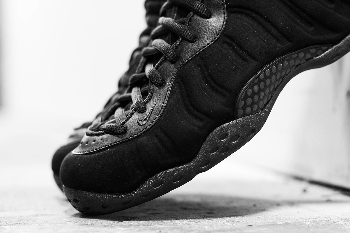 b472db130d9 ... aliexpress nike air foamposite one premium nubuck triple black 702a3  13919