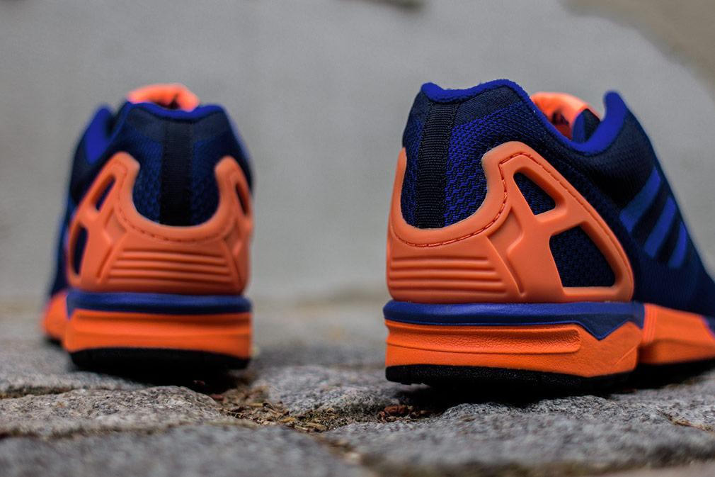 e9b67c222d4ce wholesale adidas zx flux weave dark blue orange 3d53e e176a